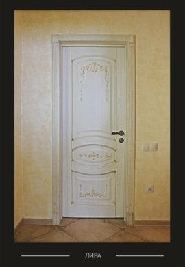 Дверь Лира межкомнатная белая